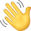 hand wave icon